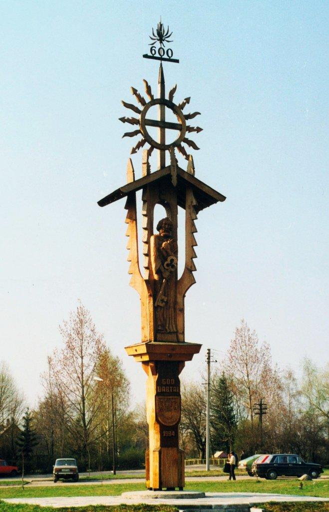 Babtų miestelio jubiliejinis paminklas